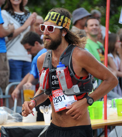 USA ultra runner Anton Krupicka